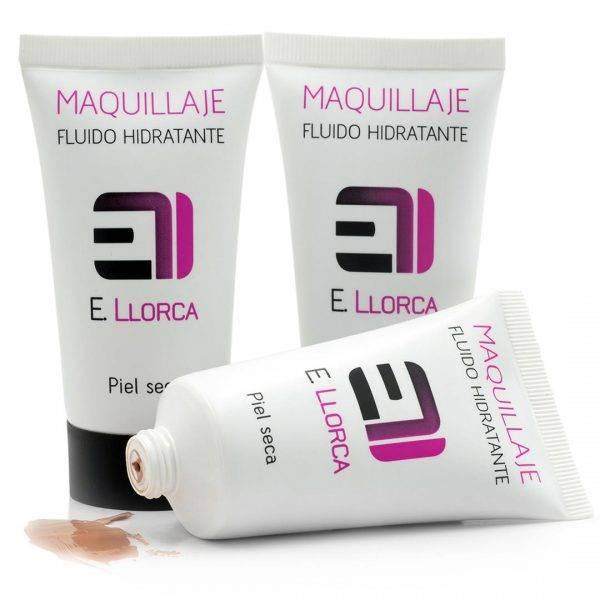 maquillaje fluido hidratante