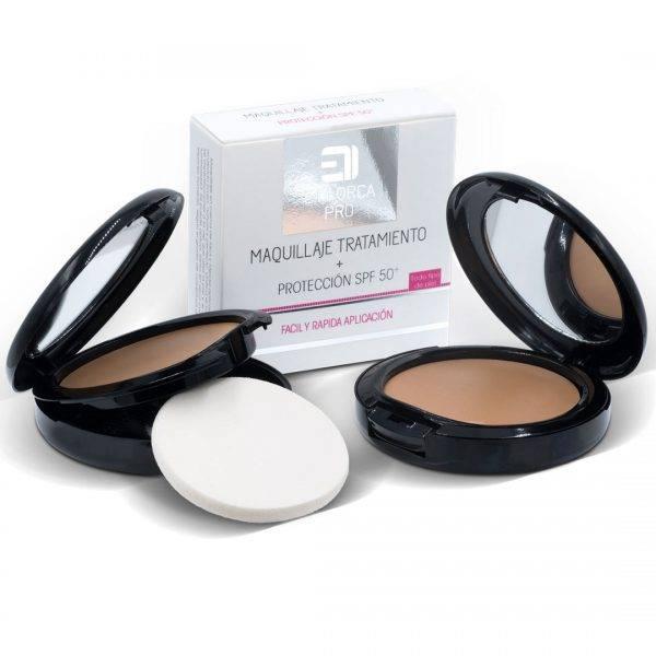 maquillaje tratamiento proteccion sfp 50